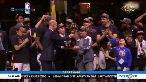 Warriors Kampiun NBA 2018