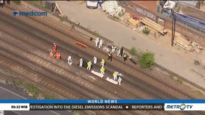 Three People Hit and Killed by Train in South London