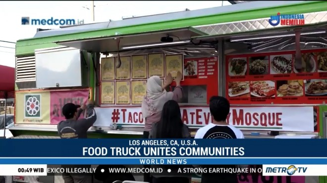 Food Trucks Serves up Tacos to Unite Latinos and Muslims