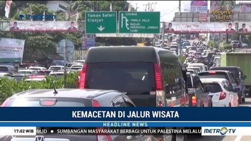 Lalin Menuju Taman Safari Indonesia Macet