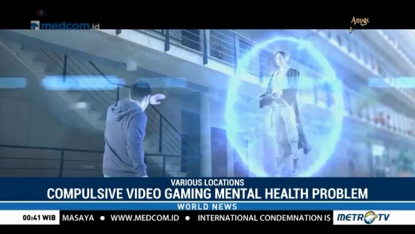 WHO Lists Compulsive Video Gaming As Mental Health Problem
