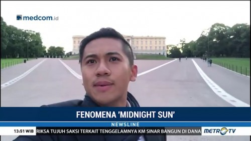 Merasakan Fenomena Midnight Sun di Norwegia