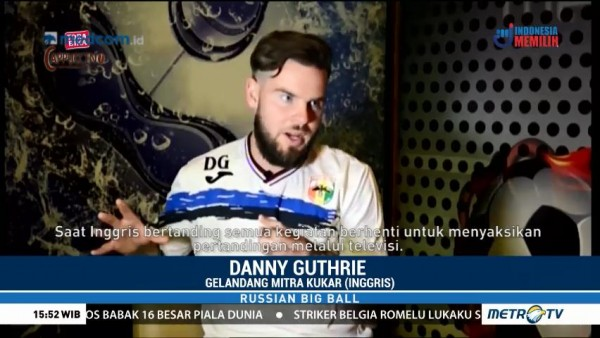 Russian Big Ball with Danny Guthrie