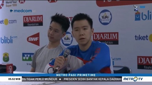 Kevin/Marcus Protes Kinerja Wasit BWF
