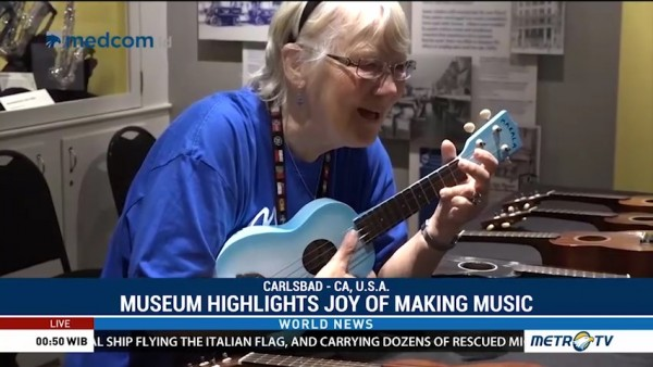 Museum Highlights Joy of Making Music