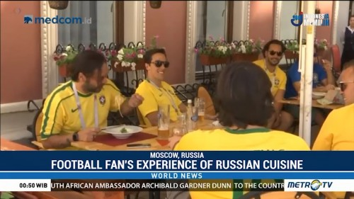 Football Fans Experience of Russian Cuisine