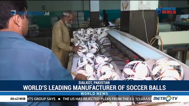 World's Leading Manufacturer of Soccer Balls