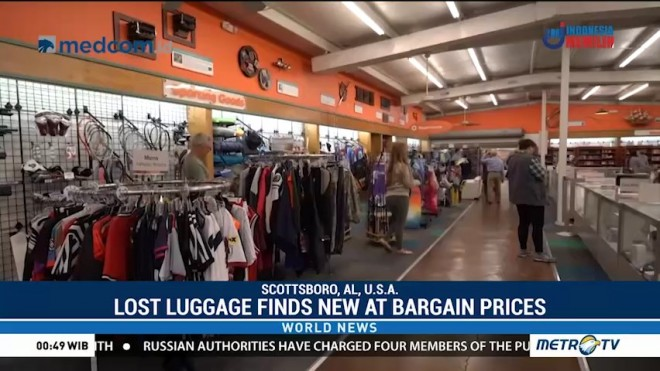 Lost Luggage Finds New at Bargain Prices