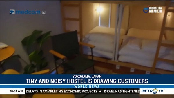 Tiny and Noisy Hostel is Drawing Customers