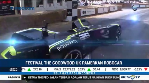 Festival The Goodwood UK Pamerkan Robocar