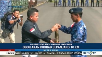 Obor Asian Games 2018 Tiba di Malang