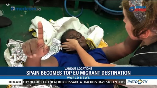 Spain Becomes Top EU Migrant Destination; Italy Accused of Causing Deaths at Sea