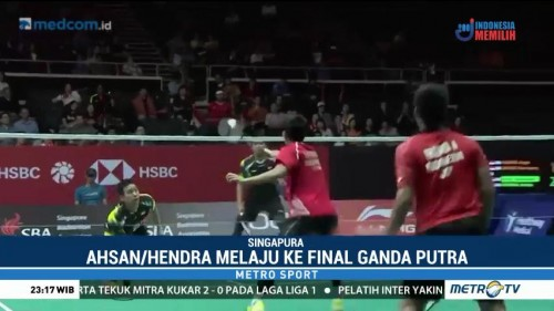 Dua Wakil Indonesia Tembus Final Singapore Open 2018