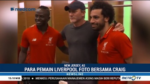 Liverpool Kedatangan James Bond