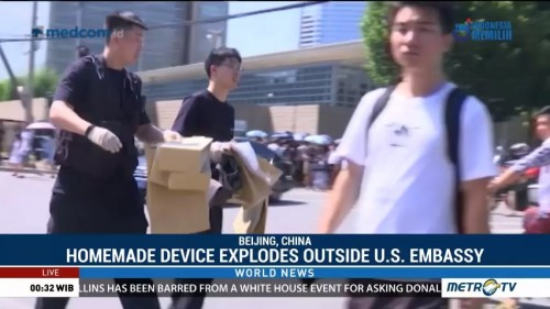 Homemade Bomb Explodes Outside US Embassy in Beijing