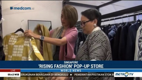 'Rising Fashion' Pop-Up Store
