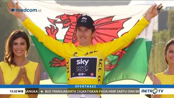 Geraint Thomas Juara Tour de France 2018