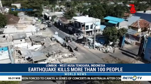 Lombok Earthquake Kills More Than 100 People
