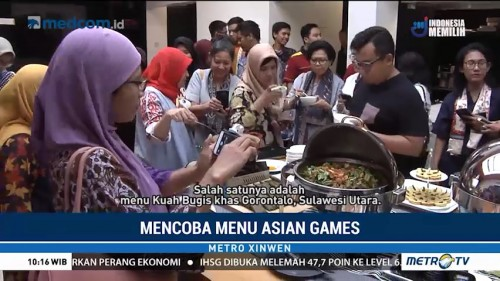 Mencicipi Menu Asian Games