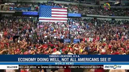 Economy Doing Well, But Not All Americans See It That Way