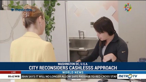 Washington DC Reconsiders Cashless Approach
