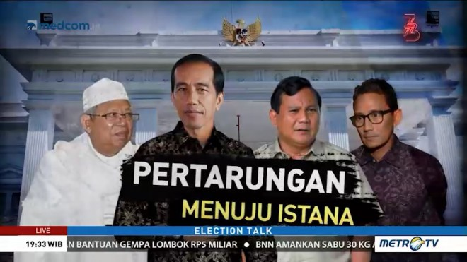 Election Talk - Pertarungan Menuju Istana (1)