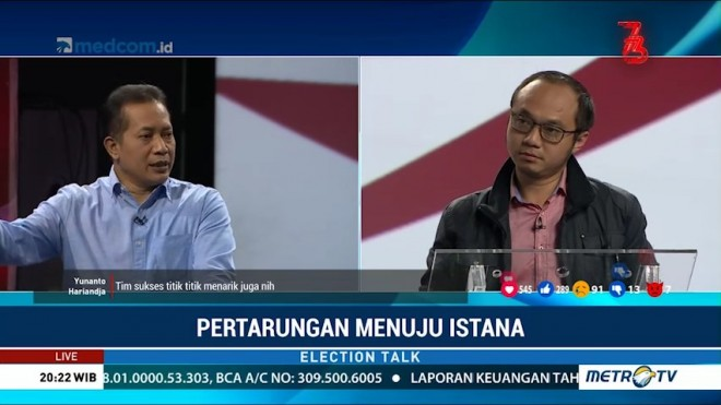 Election Talk - Pertarungan Menuju Istana (4)