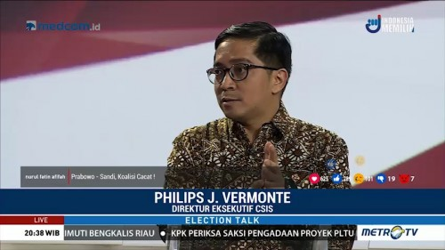 Election Talk - Pertarungan Menuju Istana (5)