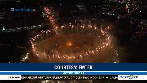 Kemeriahan <i>Opening Ceremony</i> Asian Games 2018