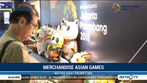 Berburu Pernak-pernik Asian Games 2018