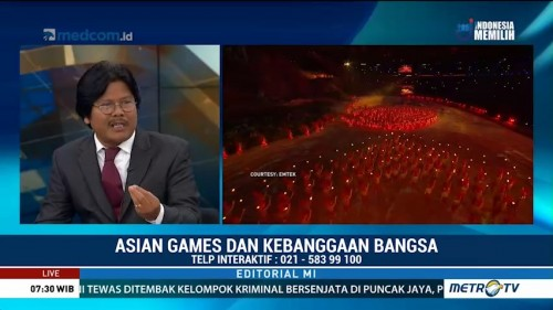 Bedah Editorial MI: Asian Games dan Kebangaan Bangsa