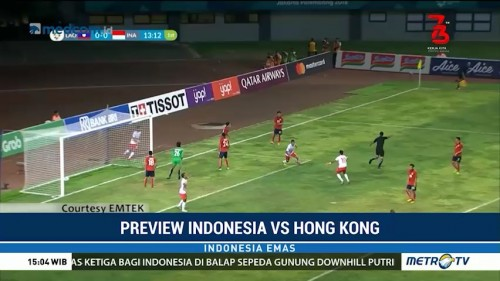 Preview Indonesia vs Hong Kong (1)