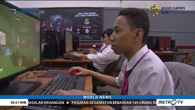 PSKD 1 High School Puts Esports on The Curriculum