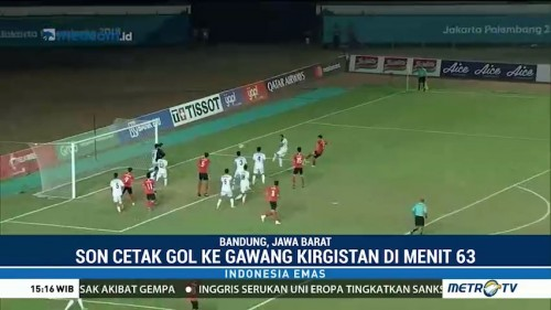 Gol Perdana Son Heung-min di Asian Games 2018