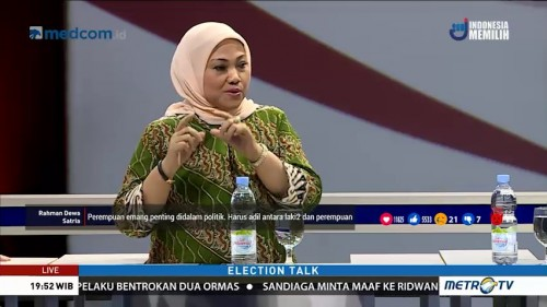 Election Talk: Politisasi Emak-emak (2)