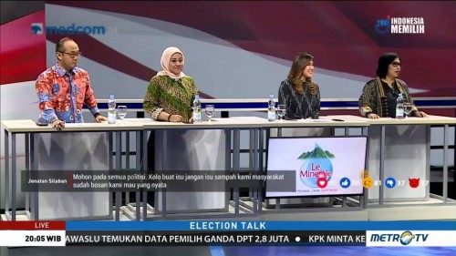 Election Talk: Politisasi Emak-emak (3)