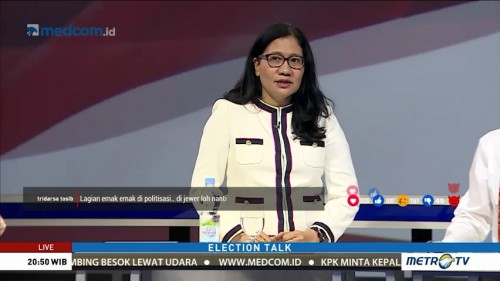 Election Talk: Politisasi Emak-emak (6)