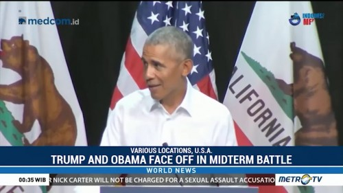 Trump and Obama Face Off in Midterm Battle