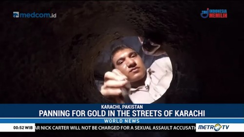 Panning for Gold in The Streets of Karachi