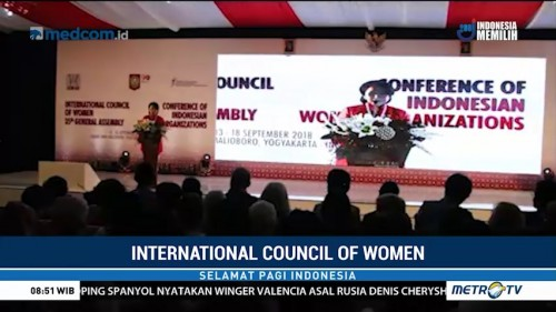 Pertemuan International Council of Women Digelar di Yogyakarta
