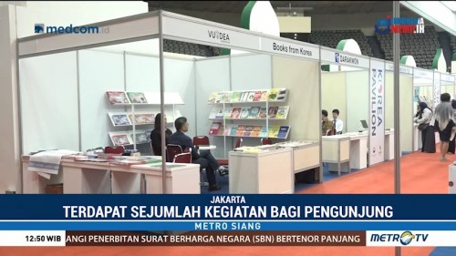 Ikapi dan Bekraf Kembali Gelar Indonesia International Book Fair