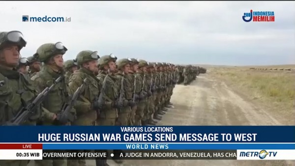 Huge Russian War Games Seek to Cement Ties With China, Send Message to West
