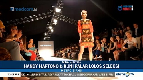 Karya Desainer Indonesia Tampil di Vienna Fashion Week 2018
