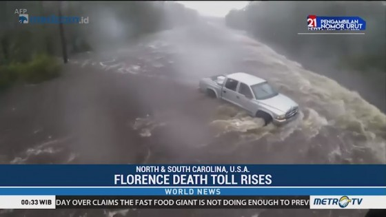 Florence Death Toll Rises