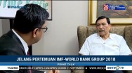 Menko Luhut Bicara Persiapan Annual Meeting IMF-World Bank Group 2018
