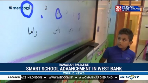 Smart School Advancement in West Bank