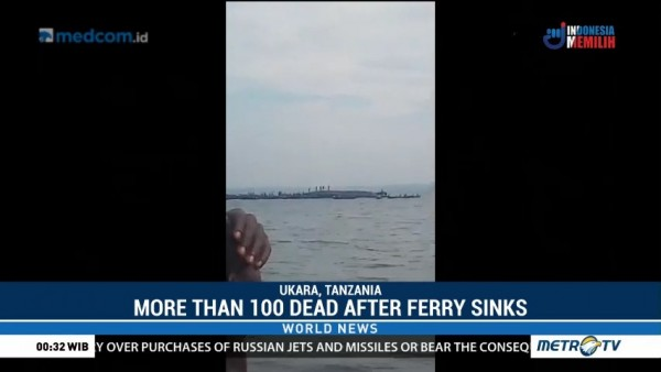 More Than 100 Dead After Ferry Sinks in Tanzania
