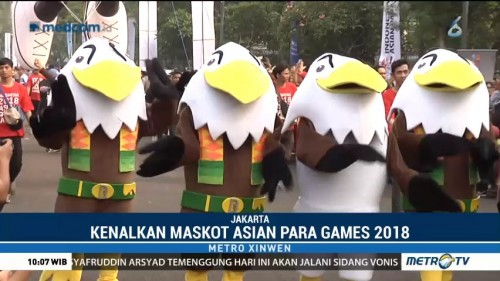 Parade Momo, Sosialisasi Asian Para Games 2018
