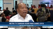 Metro TV Siarkan Pertandingan Asian Para Games 2018
