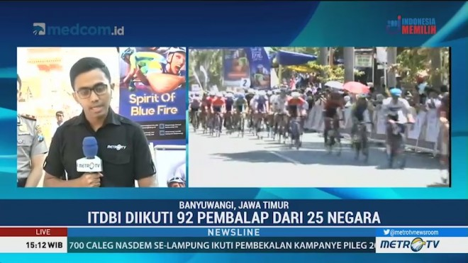 92 Pembalap Ikuti International Tour de Banyuwangi Ijen 2018